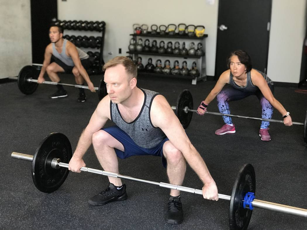 CrossFit Las Vegas offers yoga, boot camp and weightlifting classes. (CrossFit)