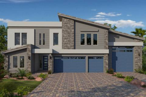 American West Homes offers Las Vegas homebuyers a mixture of architectural styles. (American We ...