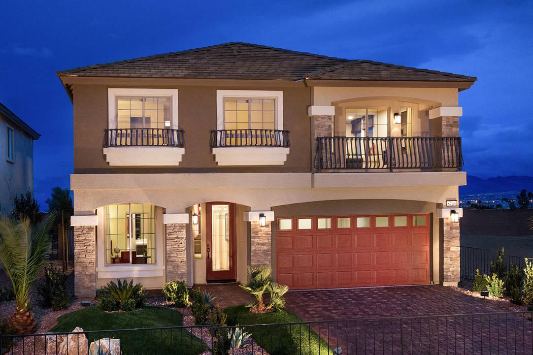 American West Homes Embraces Modern Design Trend Las Vegas Review Journal