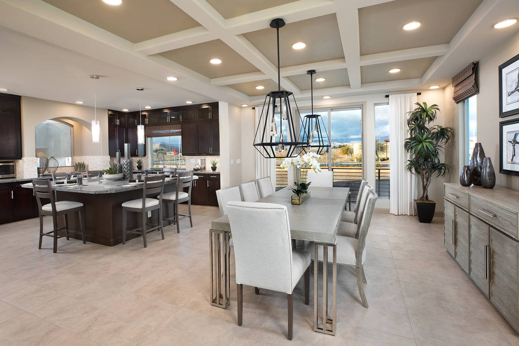 Clean, modern designs are definitely at the top of the list for homebuyers' wishes. (American W ...