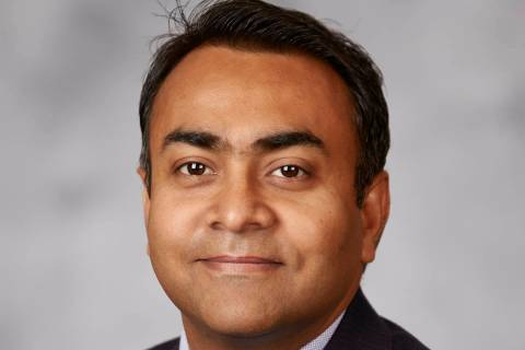 Vivek Sah, director of the Lied Institute for Real Estate Studies at UNLV.
