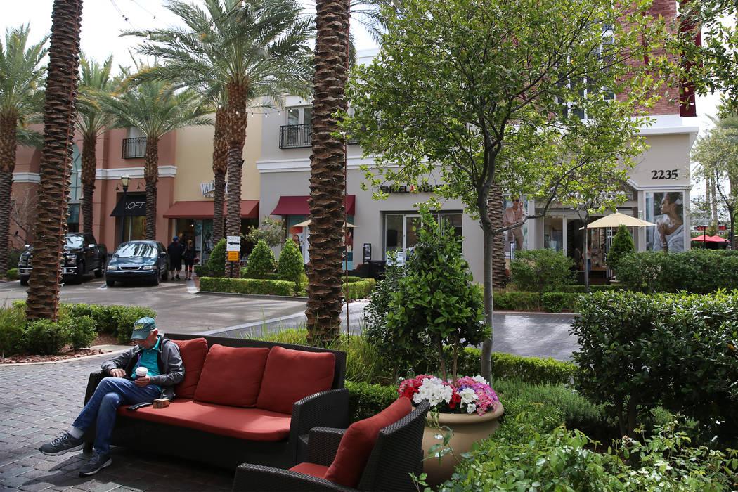 The District in Henderson, Thursday, April 4, 2019. Erik Verduzco Las Vegas Review-Journal @Eri ...