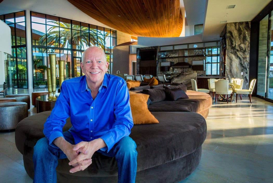 Las Vegas developer Jim Rhodes crafted his 20,000-square-foot Spanish Hills home with attention ...