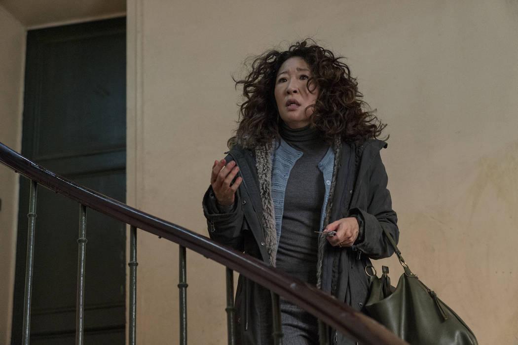 Sandra Oh as Eve Polastri- Killing Eve _ Season 2, Episode 1 - Photo Credit: Aimee Spinks ...