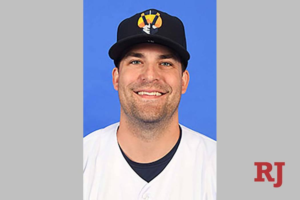 Las Vegas Aviators relief pitcher Andrew Triggs earned the season-opening win against El Paso o ...