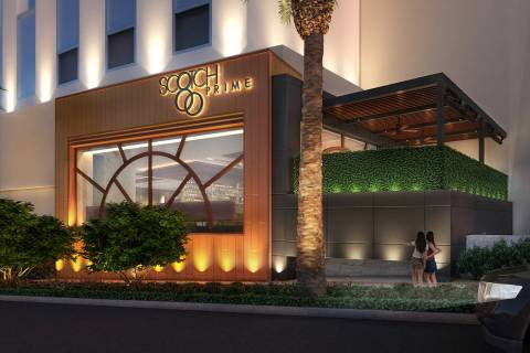 Scotch 80 Prime will open in the space that formerly housed N9NE Steakhouse. (Al Mancini/Las Ve ...