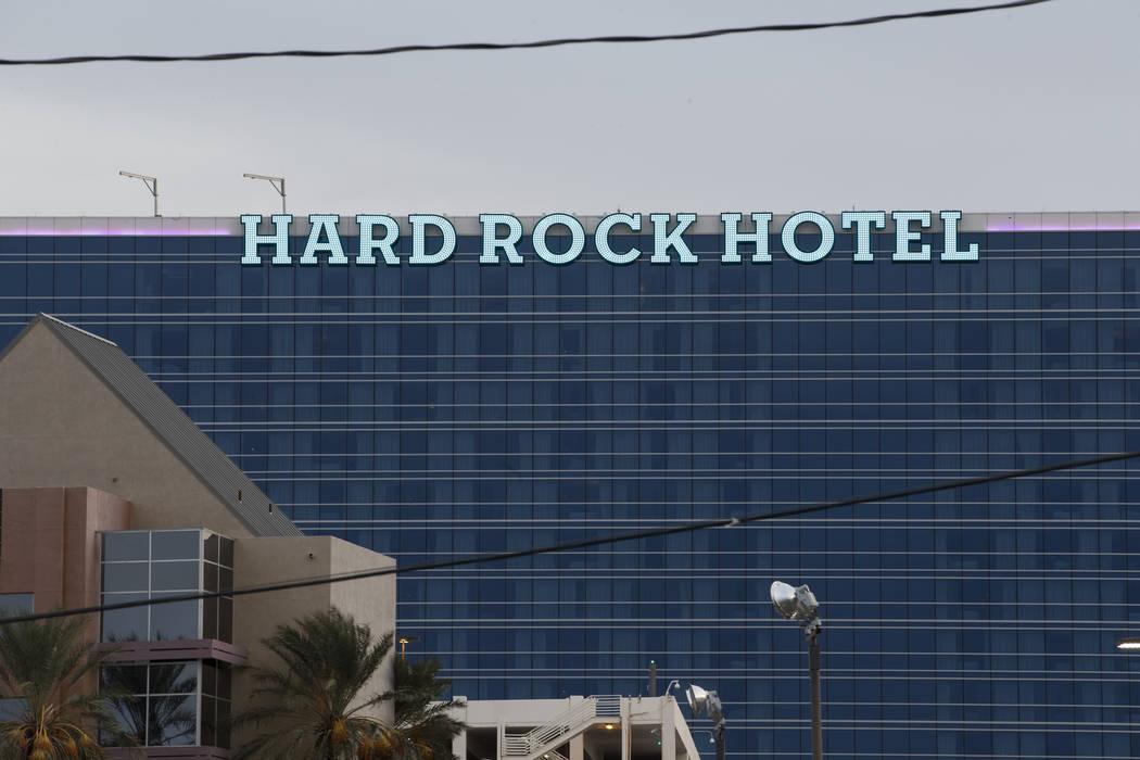 Hard Rock hotel-casino in Las Vegas, Friday, Jan. 19, 2018. (Erik Verduzco Las Vegas Review-Jou ...