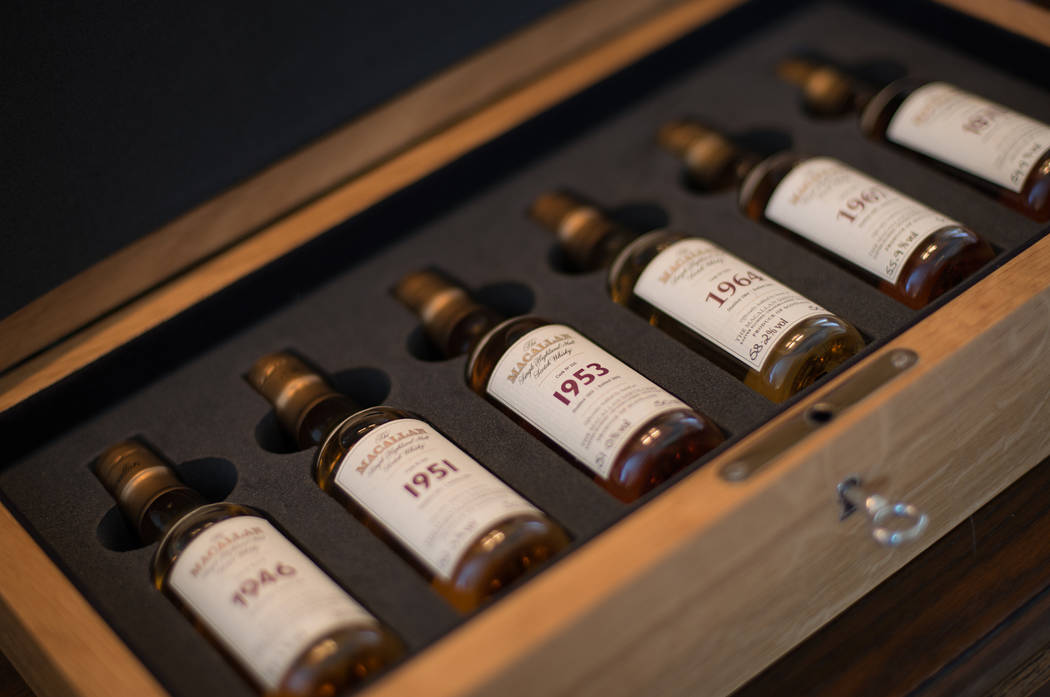 Scotch 80 Prime offers over 30 selections from the Macallan Fine and Rare collection. (Scotch 8 ...