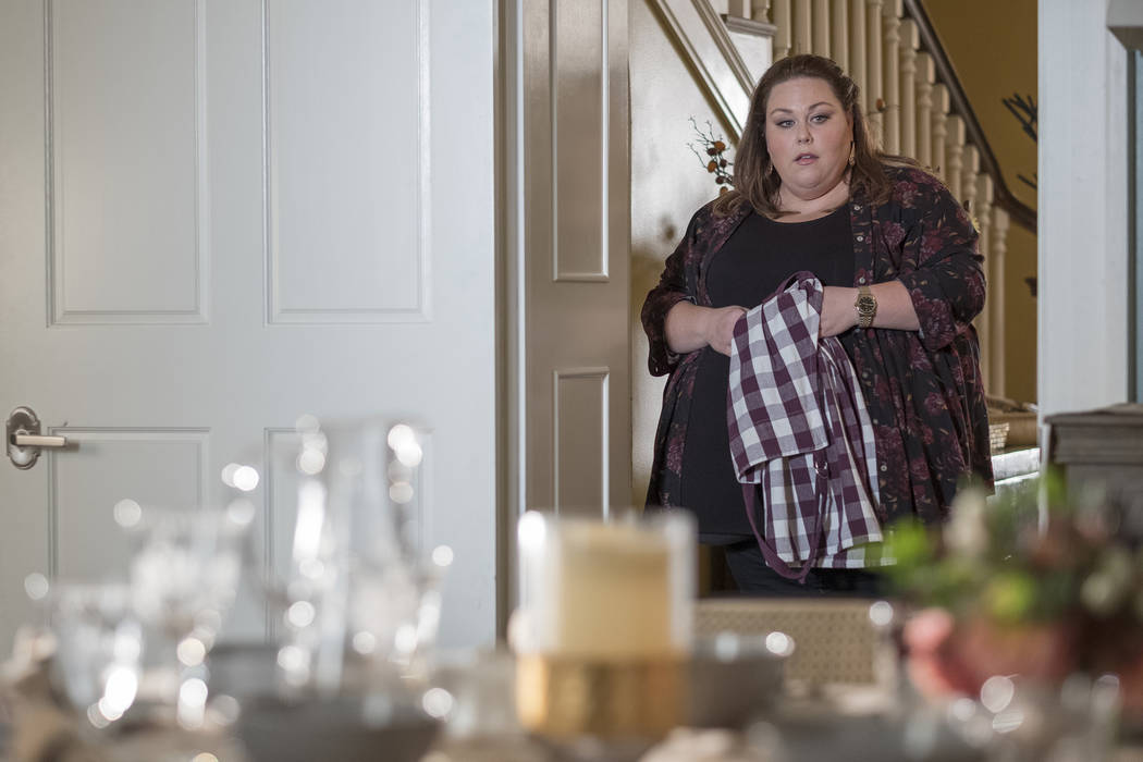 """THIS IS US -- """"Six Thanksgivings"""" Episode 308 -- Pictured: Chrissy Metz as Kate -- (P ..."""
