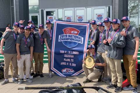 The Jr. Golden Knights tweeted Monday morning that the U16 Midgets team defeated the Atlanta Jr ...