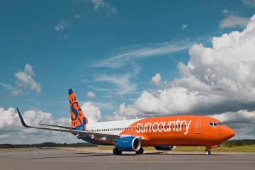 Sun Country Airlines will add 13 new flights a week with seasonal nonstop routes connecting Las ...