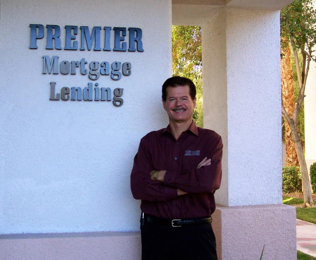 Rick Piette, owner of Las Vegas- based Premier Mortgage Lending.