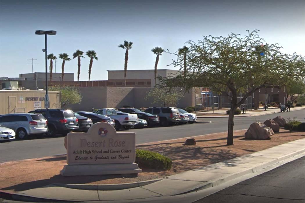 Desert Rose High School, North Las Vegas (Google Street View)