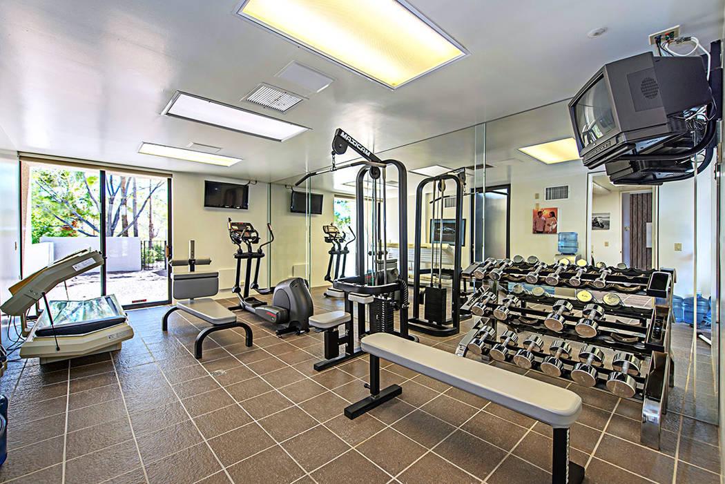 The gym. (Luxury Estates International)