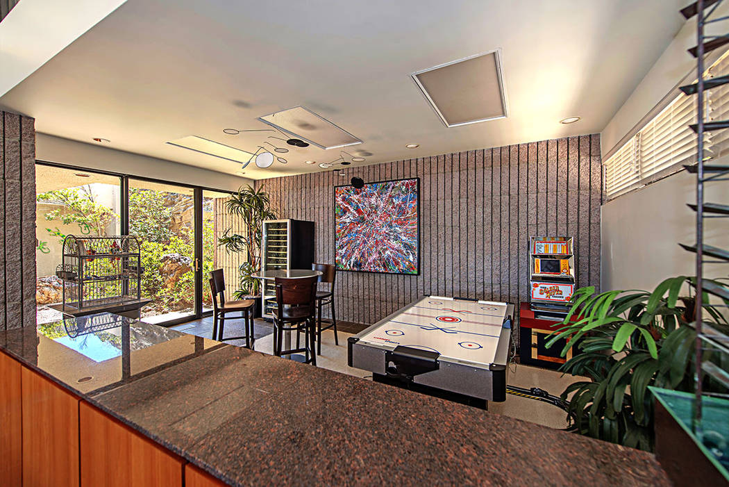 The game room. (Luxury Estates International)
