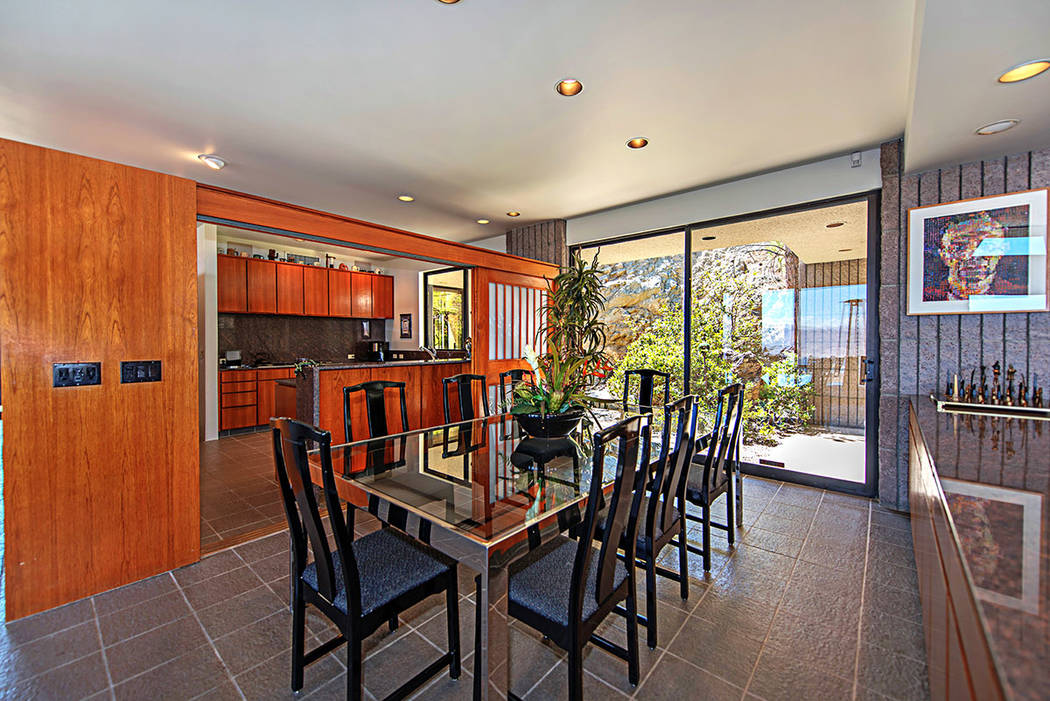 The kitchen and dining room. (Luxury Estates International)