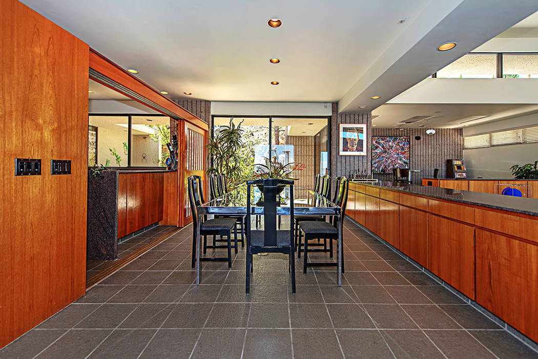 The dining room. (Luxury Estates International)