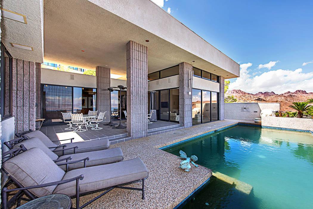 The pool area. (Luxury Estates International)