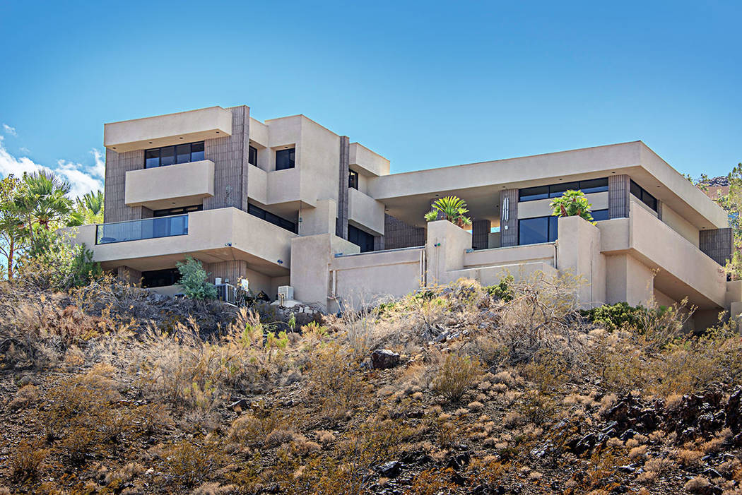 This Boulder City home has listed for 3,450,000. (Luxury Estates International)