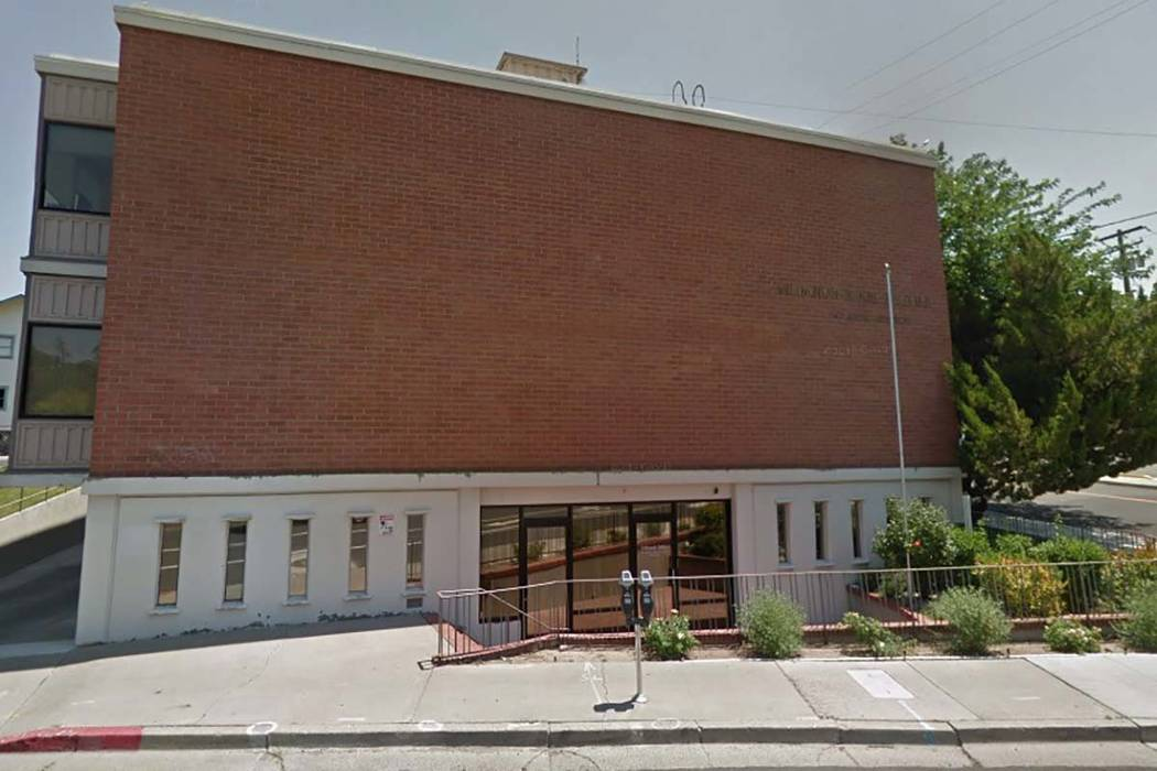 The Catholic Pastoral Center in Reno. (Google)