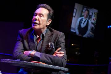 In this Jan. 18, 2019, photo, Wayne Newton speaks with the Associated Press at Caesars Palace i ...