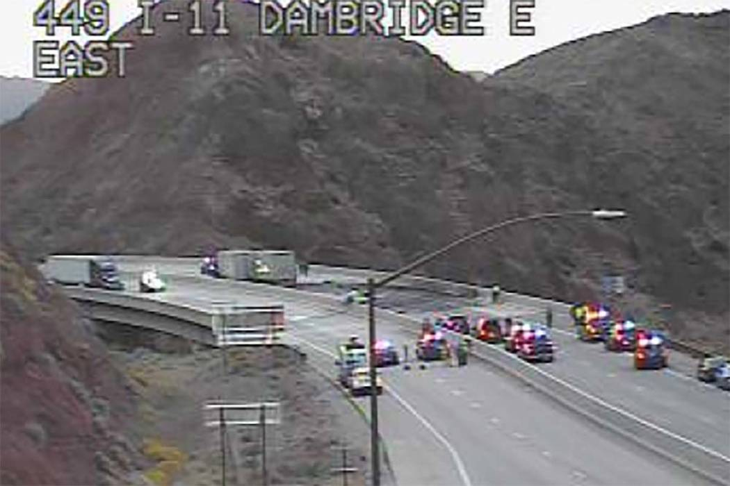 A fatal crash has closed Interstate 11 and U.S. Highway 93 near Boulder City in both directions ...