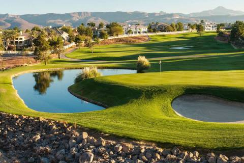 The Legacy Golf Club in Henderson reopened in October 2017 after being closed on July 3 of that ...