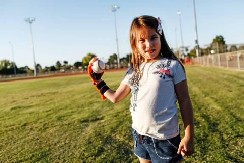 Hailey Dawson. (Joel Angel Juarez/Las Vegas Review-Journal) @jajuarezphoto