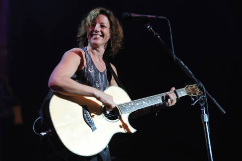 Sarah McLachlan performs at the ELLE 5th annual Women In Music concert celebration at the Avalo ...