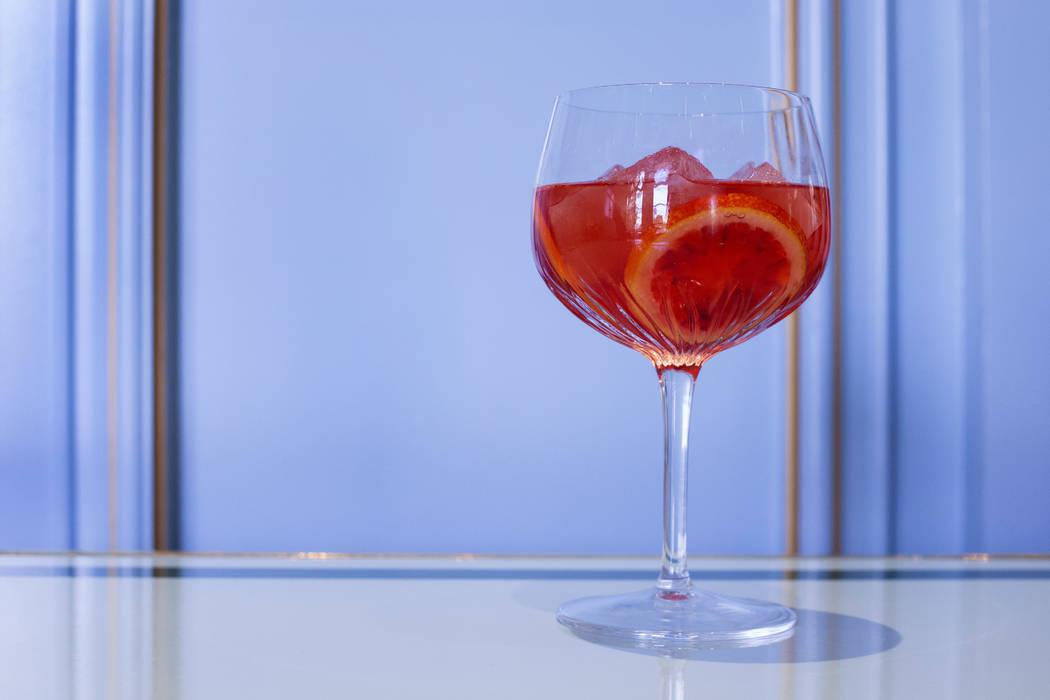 Blood Orange cocktail at Sadelle's (Jenn Smulo)