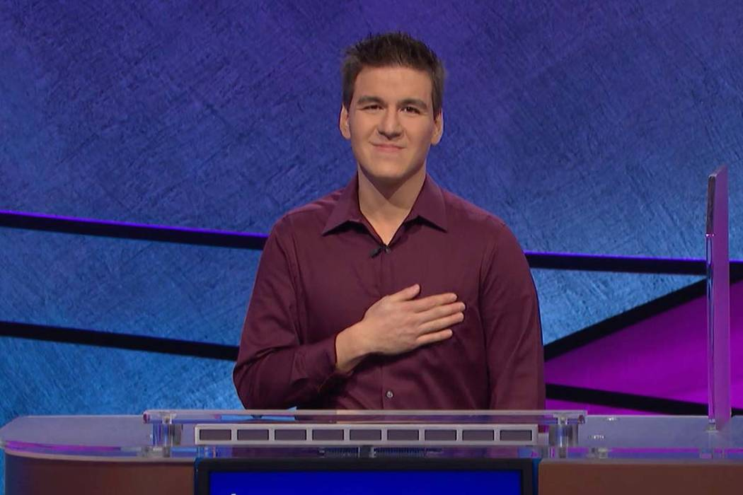 """Las Vegan James Holzhauer set the single-day record for """"Jeopardy!"""" winnings on Tuesday, Ap ..."""