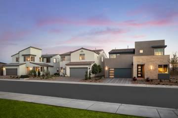 Pardee Homes' Larimar neighborhood in The Villages at Tule Springs in North Las Vegas offers ...