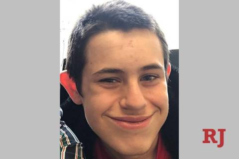 Timothy Miller, 14, was found safe early Wednesday, April 10, 2019, according to North Las Vega ...