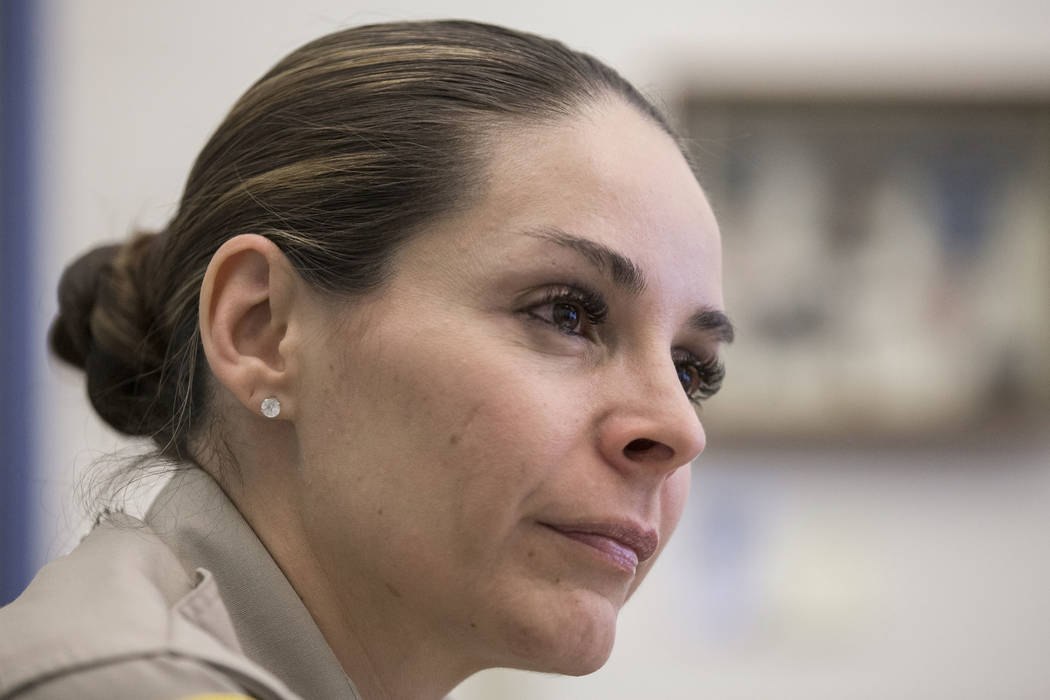 Metropolitan Police Department Capt. Sasha Larkin discusses the issue of stolen guns in the nor ...