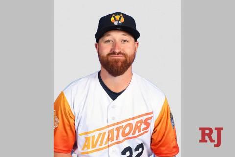 Las Vegas Aviators pitcher Jake Buchanan (32) (Las Vegas Aviators)