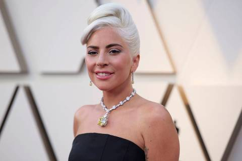 Lady Gaga arrives at the Oscars on Sunday, Feb. 24, 2019, at the Dolby Theatre in Los Angeles. ...