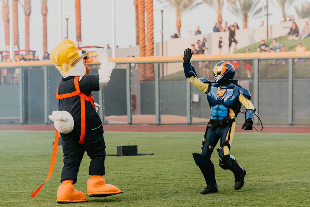 In addition to the Las Vegas Aviators' new logo and team uniforms, fans were introduced to th ...