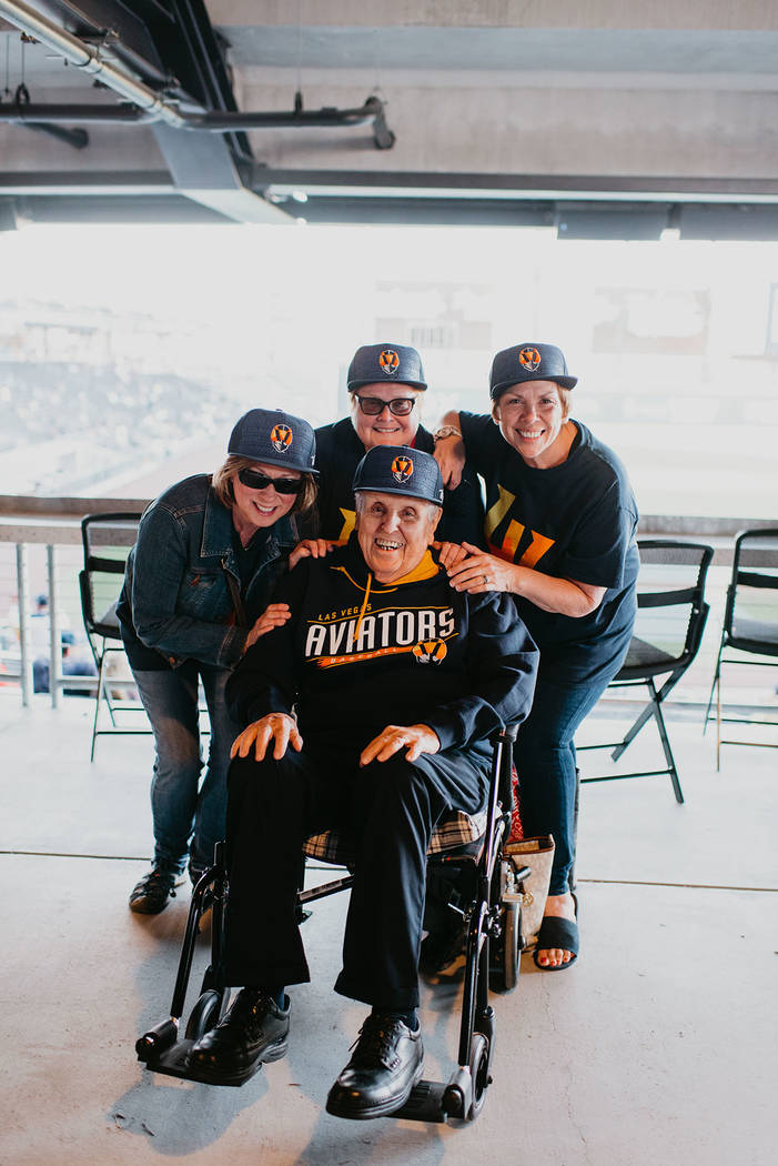 The evening not only included a win by the Aviators over the Sacramento River Cats, but also un ...