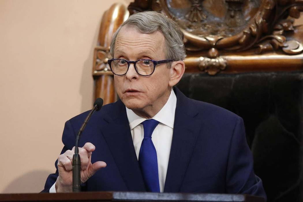 Ohio Gov. Mike DeWine signed a bill imposing one of the nation's toughest abortion restrictio ...