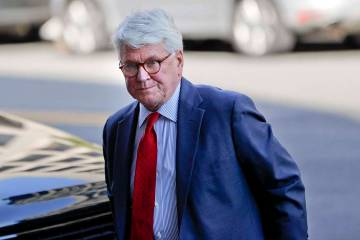 Attorney Gregory Craig arrives at U.S. District Court in Washington, Oct. 17, 2016. Craig was i ...