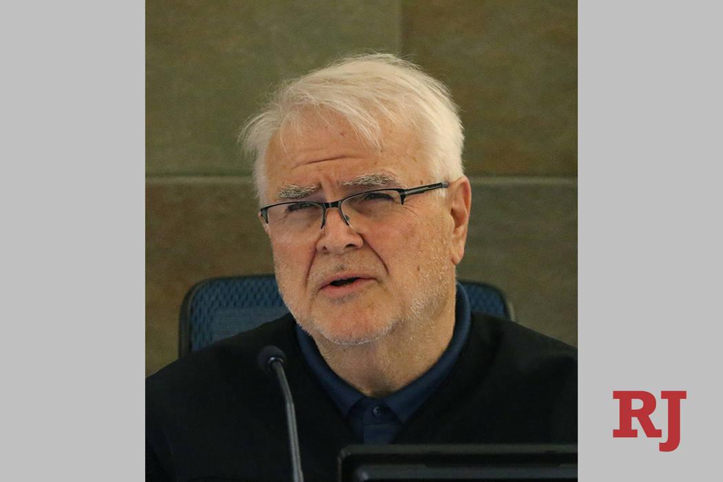 District Judge Doug Smith is retiring from the bench Friday. Bizuayehu Tesfaye/Las Vegas Review ...