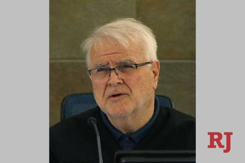 District Judge Doug Smith is retiring from the bench Friday. Bizuayehu Tesfaye/Las Vegas Review ...