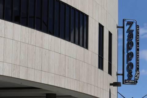 Zappos' headquarters in downtown Las Vegas photographed on Tuesday, April 2, 2019. Bizuayehu Te ...