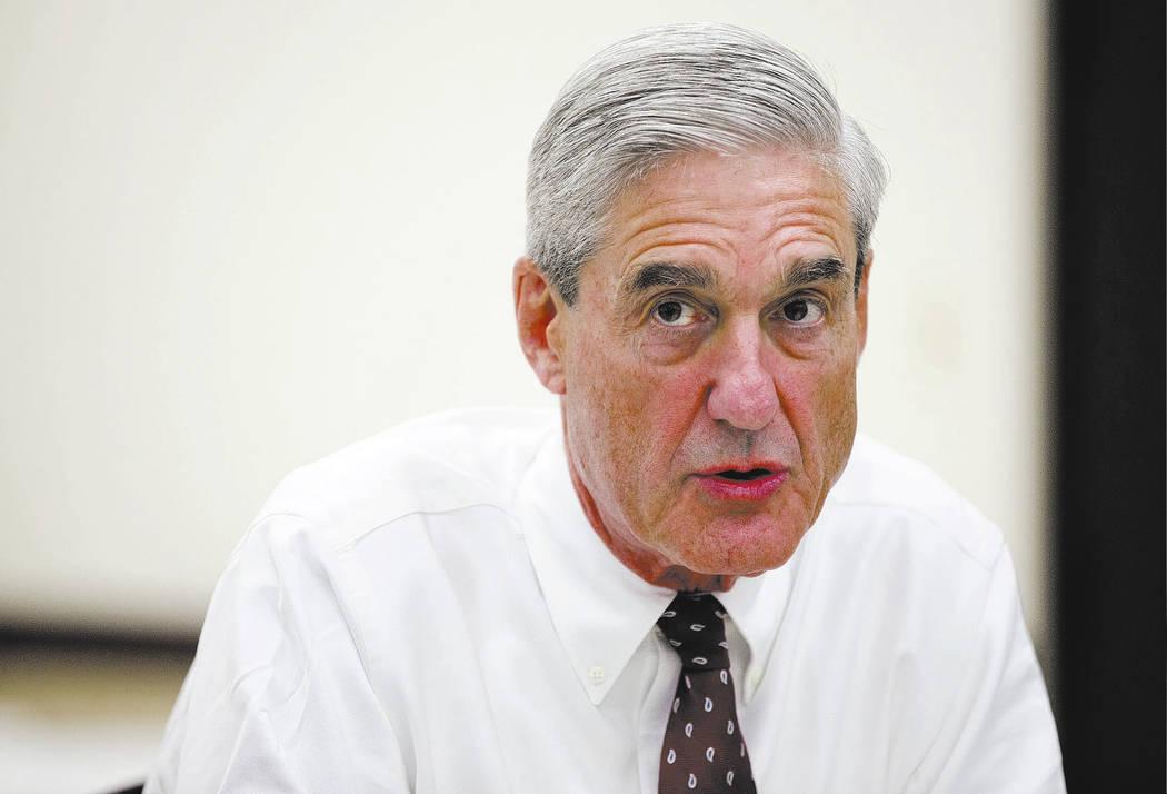 Robert Mueller. (AP Photo/Evan Vucci, File)