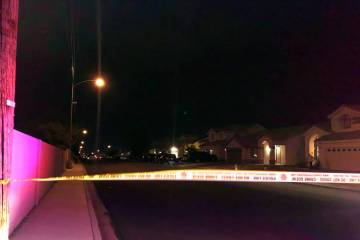 Henderson police were involved in a shooting while serving a search warrant in the northeast va ...