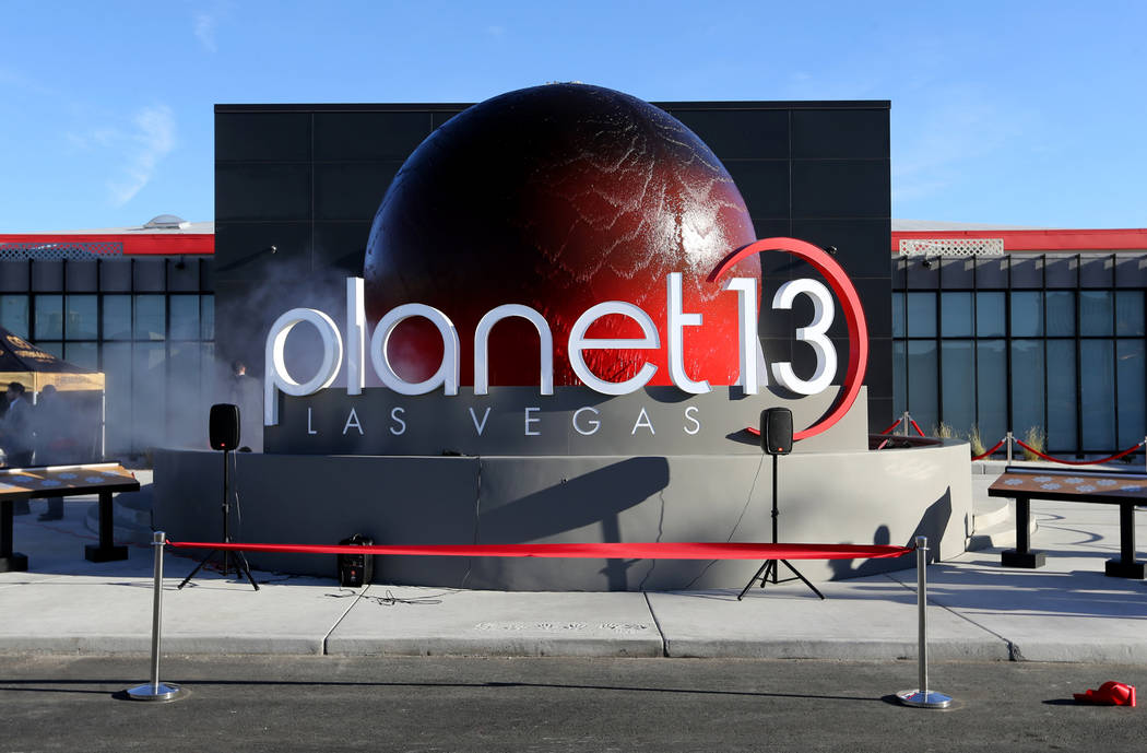 Planet 13, which bills itself as one of the largest dispensaries in the world, opens its doors ...