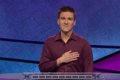 "Las Vegan James Holzhauer won his ninth consecutive game of ""Jeopardy!""on Tuesday. (Jeopard ..."