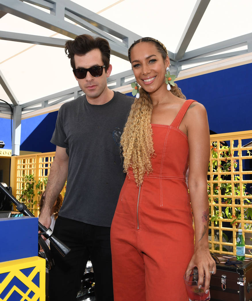 LAS VEGAS, NV - APRIL 13: Musician/DJ/songwriter Mark Ronson and singer Leona Lewis attend the ...