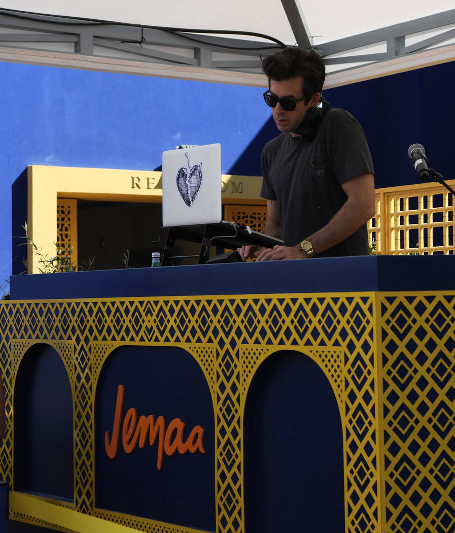 LAS VEGAS, NV - APRIL 13: Musician/DJ/songwriter Mark Ronson performs at the debut weekend of ...