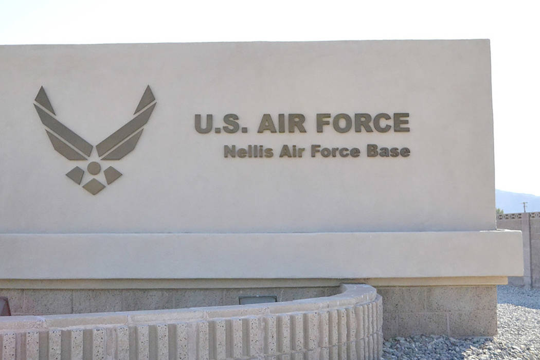 Nellis Air Force Base in Las Vegas (Las Vegas Review-Journal)